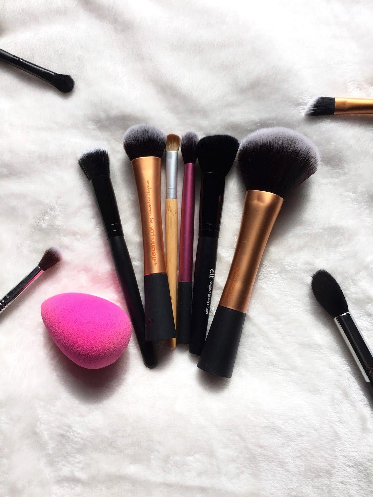 Essentials Brush Guide Makeup blog, Makeup, Putting on
