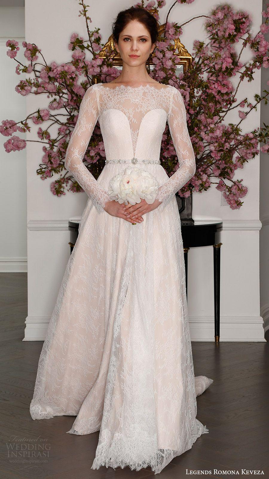 Legends romona keveza spring wedding dresses blush color
