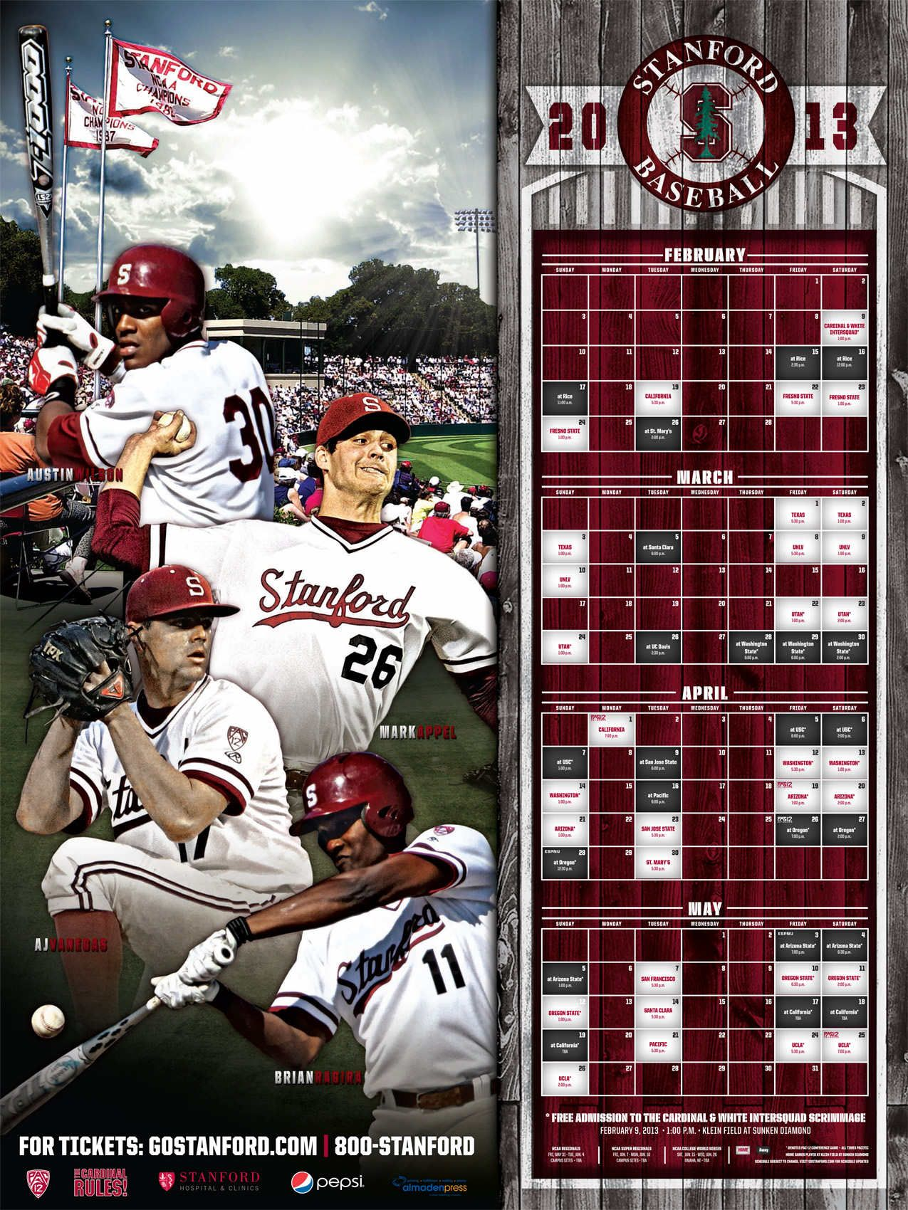 2013 Posters Stanford Cardinal Sport Poster Design Sport Poster Sports Design