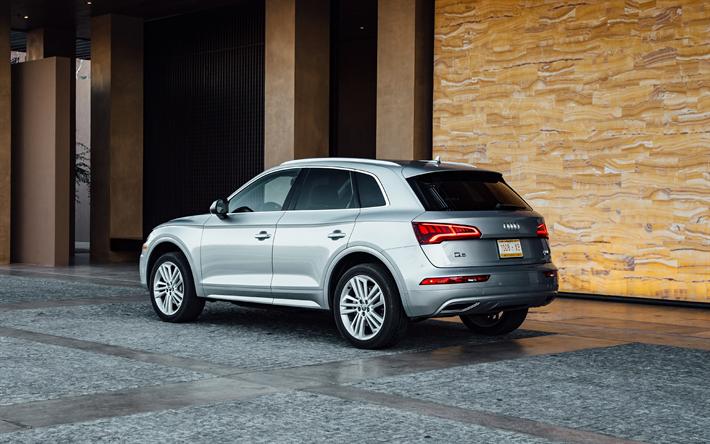Download Wallpapers Audi Q5 2018 Quattro 4k New Q5 Rear