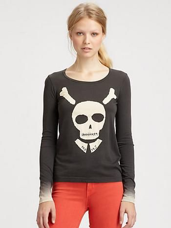 Ha, mamma might need to wear this to Arlo's Pirate b-day party. Marc by Marc Jacobs Bones About It Tee