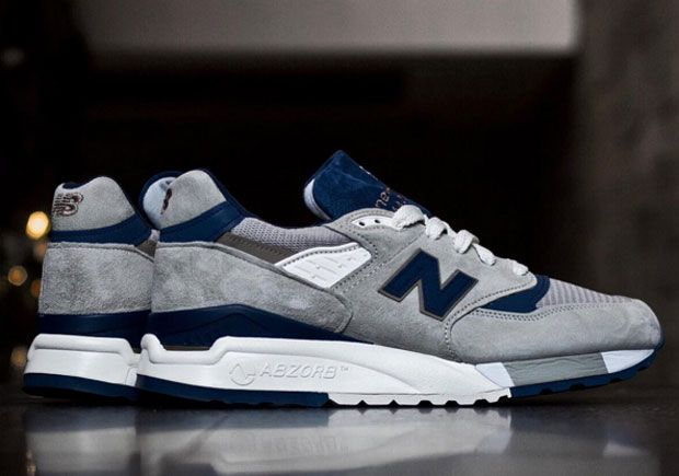 more photos 96eb1 e82a8 New Balance 998 Made In USA Arrives In A Classic Grey And ...