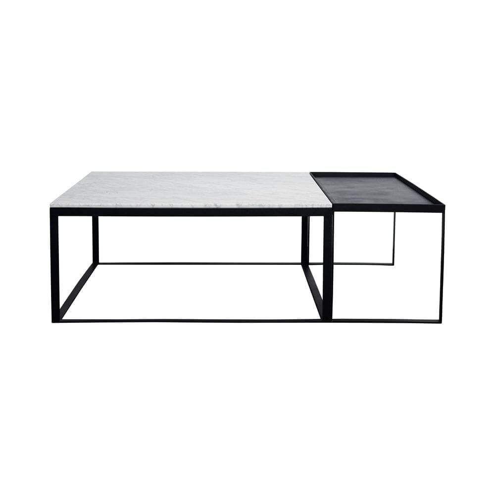 Melrose Marble Coffee Table Set Black Dos Facio Design Marble Coffee Table Coffee Table Marble Coffee Table Set [ 1000 x 1000 Pixel ]