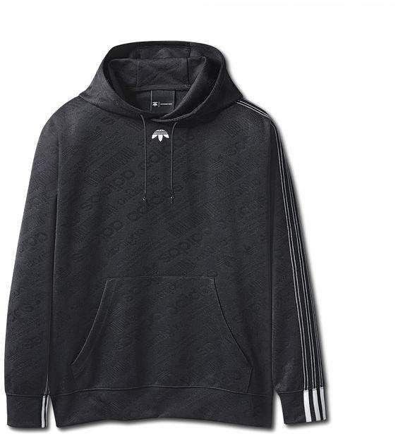 Alexander Wang Adidas Originals By Aw Jacquard Hoodie
