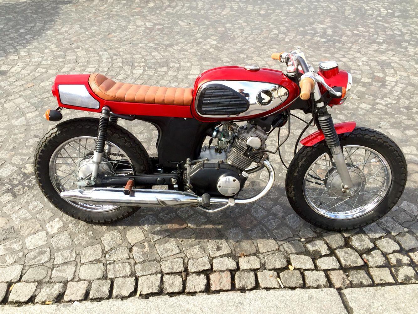 Honda CD 125 1973 Cafe Racer Aurelien Mouysset