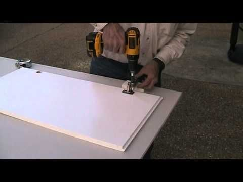 Convert Older Style Cabinet Doors From Standard Hinges To