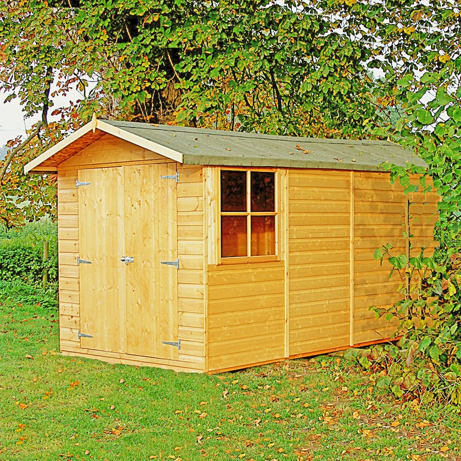 Garden Sheds 2m X 2m shire 7ft x 13ft (2m x 4m) jersey budget apex shed – next day