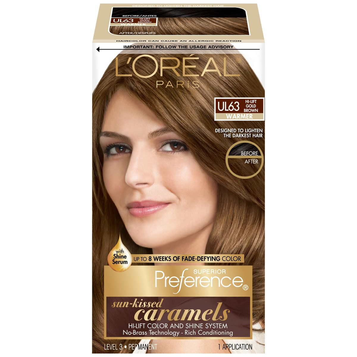 Caramel Brown Hair Color Loreal Best Color To Dye Gray Hair