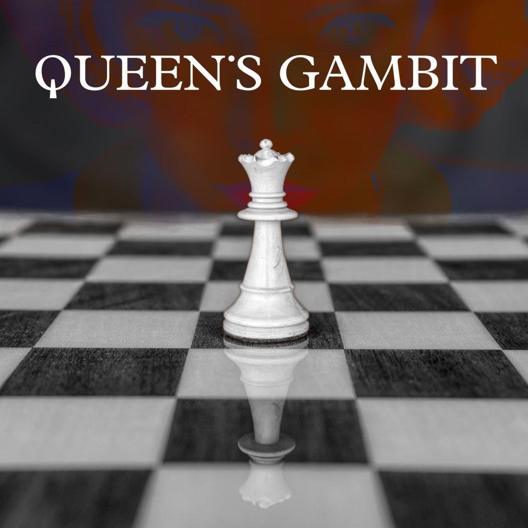 "THE QUEEN/'S GAMBIT netflix chess book 1983 movie - 2/"" x 3/"" POSTER MAGNET 2020"