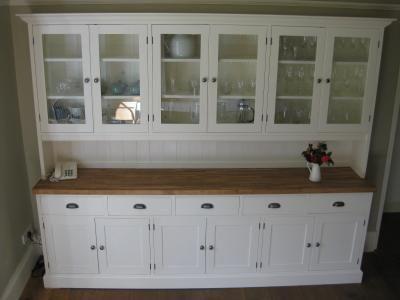 bespoke devon kitchen dresser pine display cabinets dressers and sideboards pine shop bury