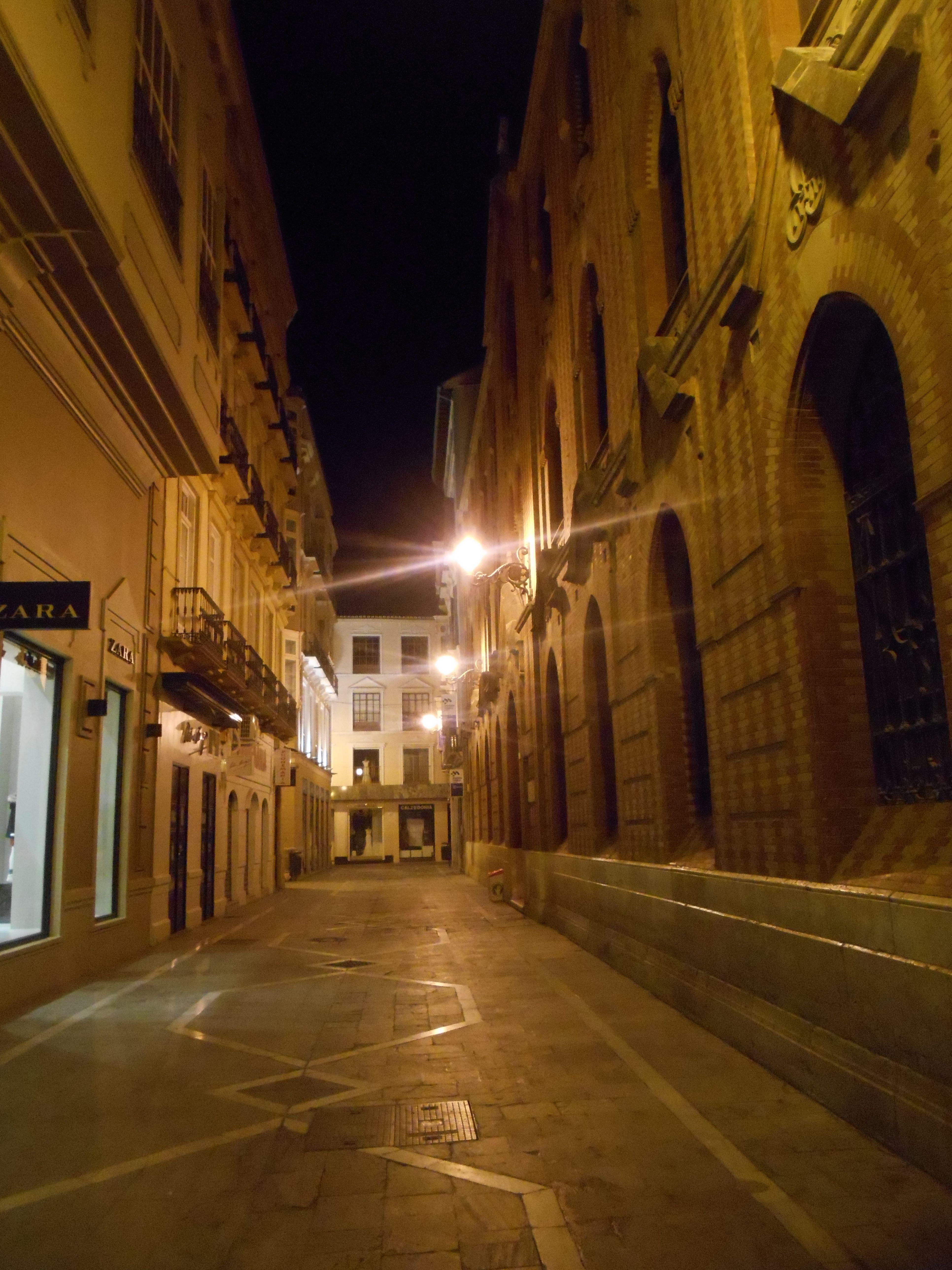 Casco Histórico. Málaga.