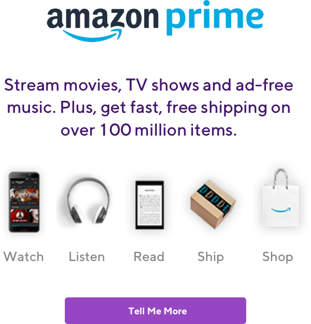 Amazon Prime. Stream movies, TV shows, and adfree music