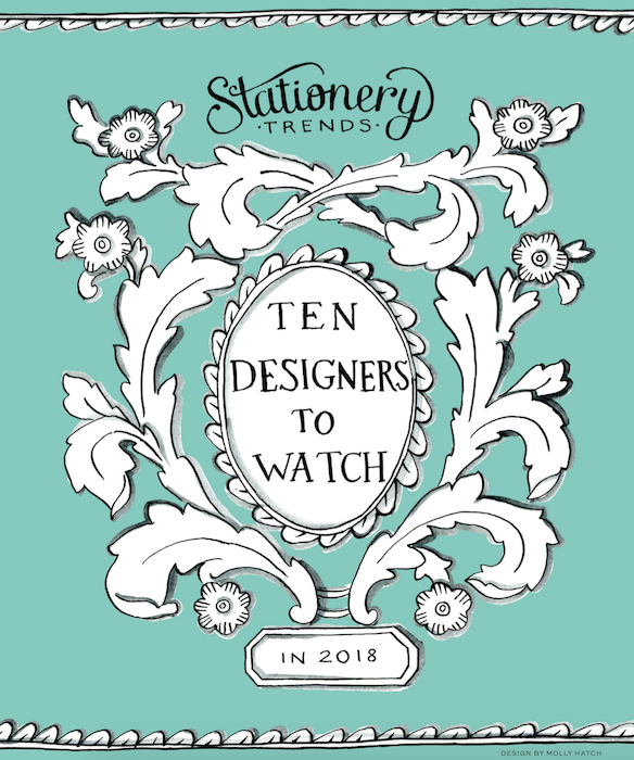 SPECIAL REPORT: Meet this year's top designers to watch! In this special Stationery Trends report you'll see 10 designers influencing trends in 2018 - and how to keep up with them: http://bit.ly/2018Designers