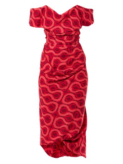 Exclusive Cocotte squiggle-print dress | Vivienne Westwood Gold Label