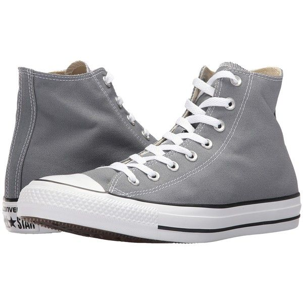 e61aabd7003d Converse Chuck Taylor All Star Hi (Cool Grey) Classic Shoes ( 55) ❤ liked  on Polyvore featuring shoes