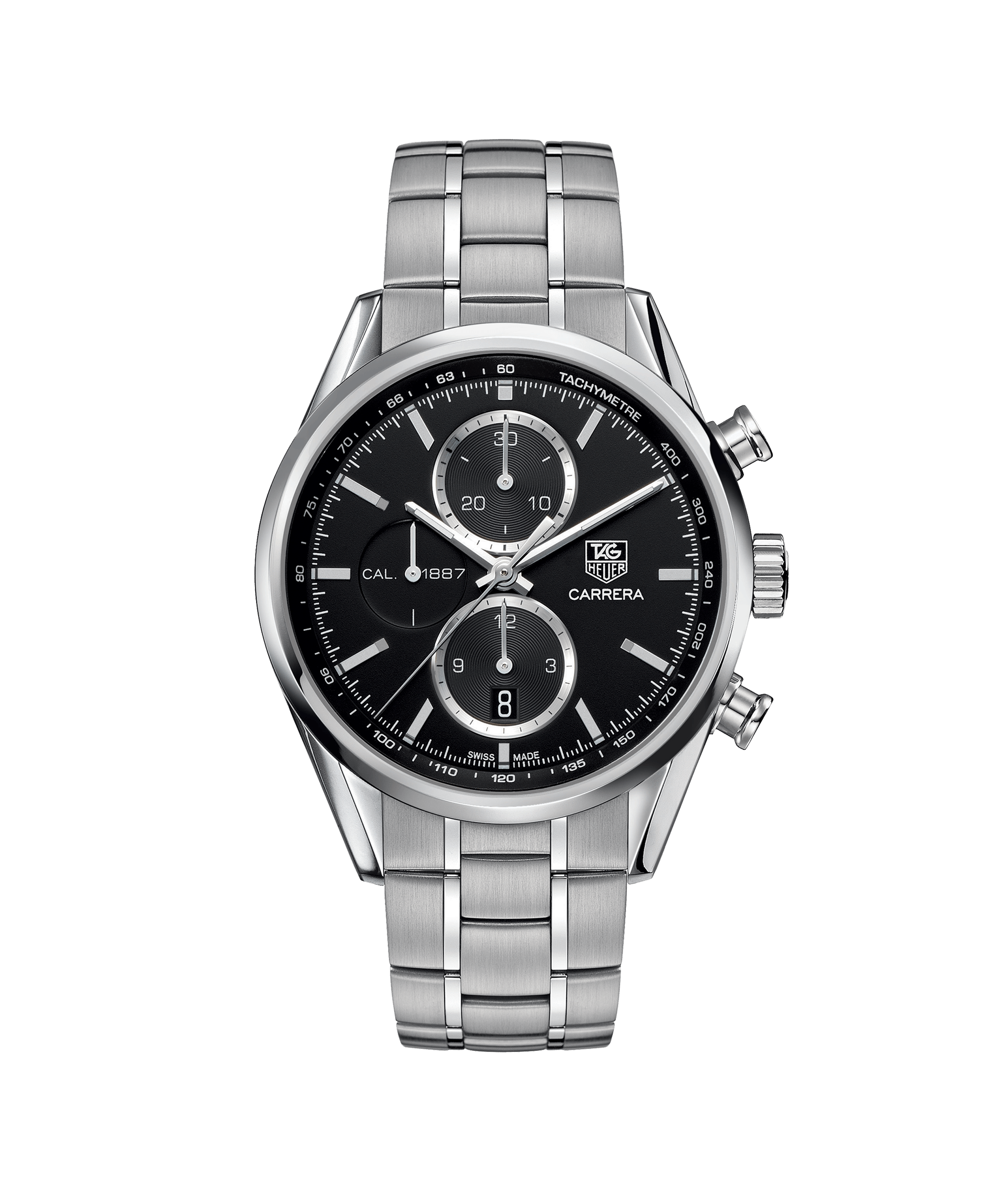 fe115f8c54f TAG Heuer Carrera Calibre 1887 Automatic Chronograph 100 M - 41 mm  CAR2110.BA0724 TAG Heuer watch price
