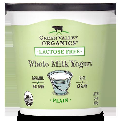 Organic Plain Yogurt Whole Milk (With images) Lactose