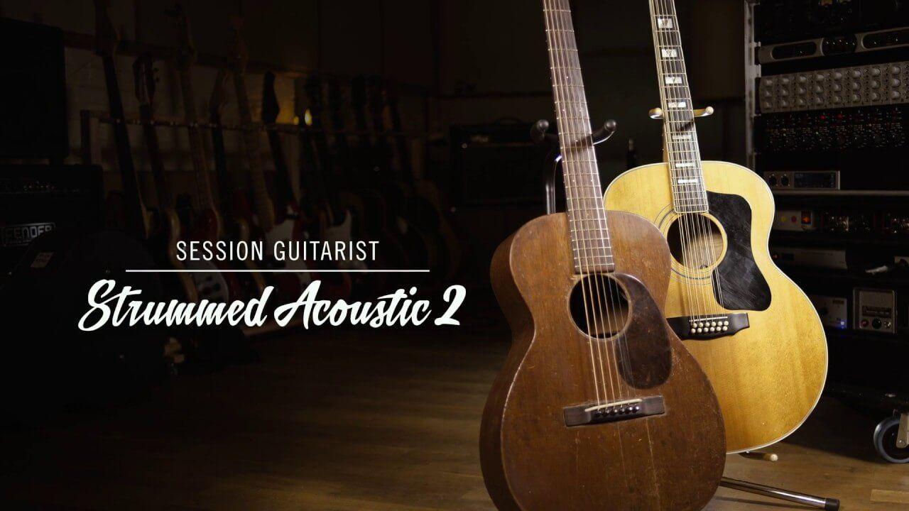 Session Guitarist Strummed Acoustic 2 Kontakt Library Acoustic Guitarist Strum