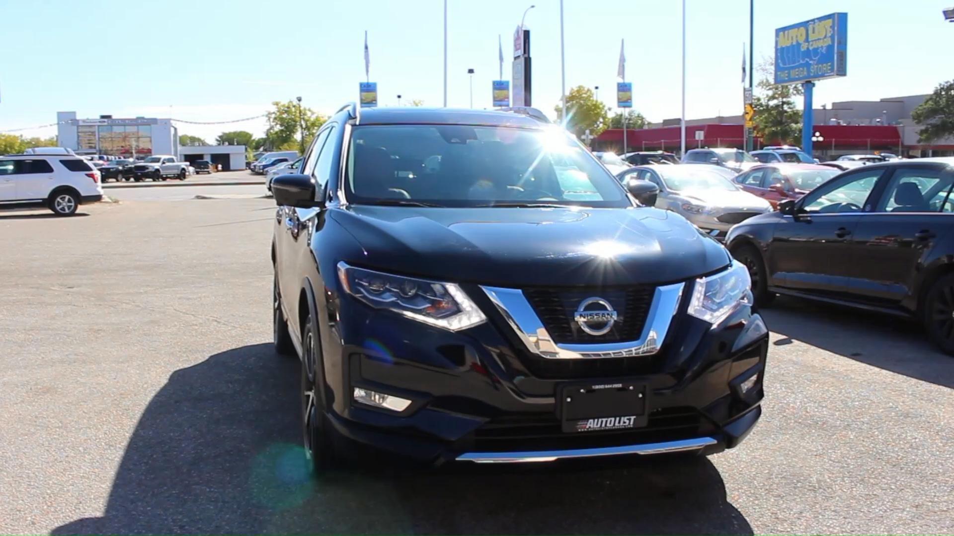 2017 Nissan Rogue Sl Platinum Video Nissan Rogue Used Cars Nissan Rogue Sl