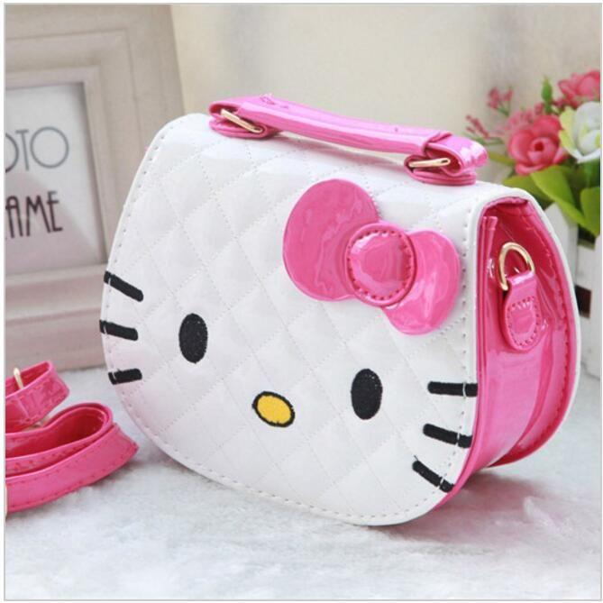 40cabbb41d 2016 New designers mini cute bag children hello kitty Bowknot handbag kids  tote girls Shoulder Bag mini bag wholesale