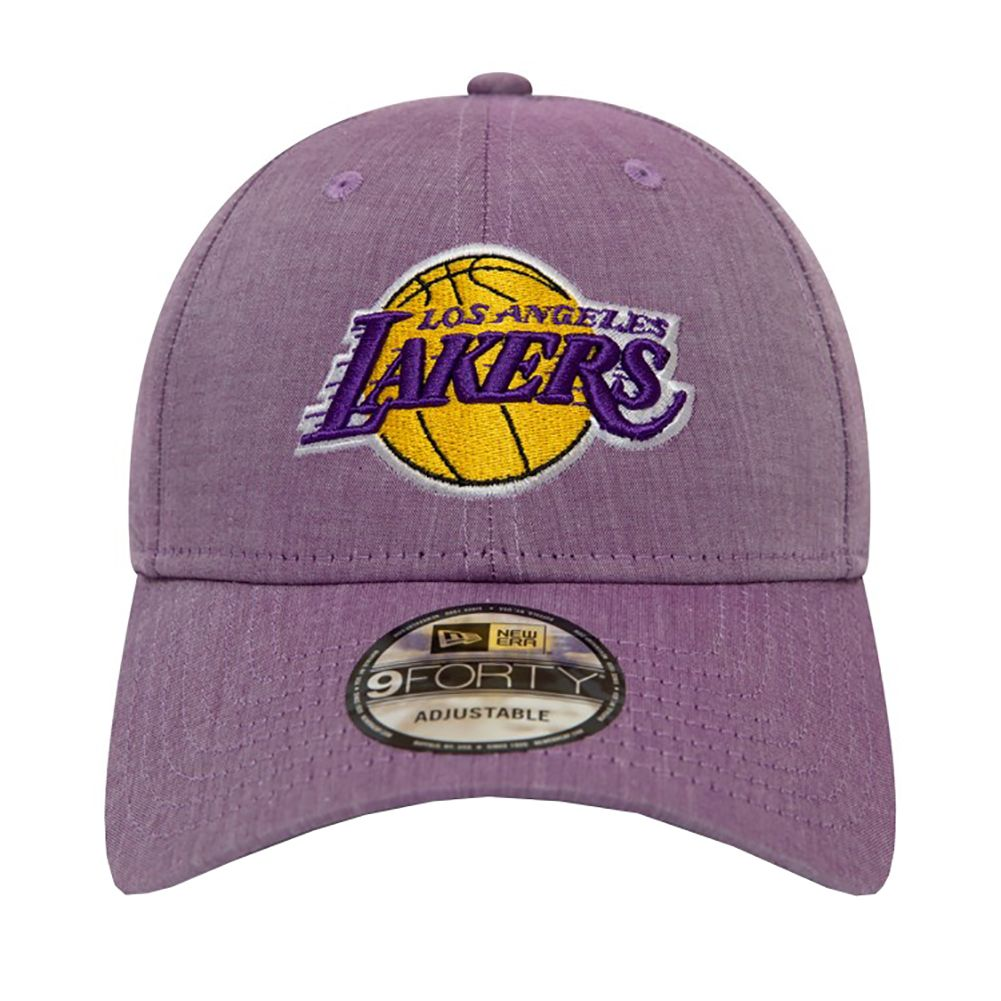 get online separation shoes best selling New Era Los Angeles Lakers Chambray 9 Forty Cap - Purple | Los ...