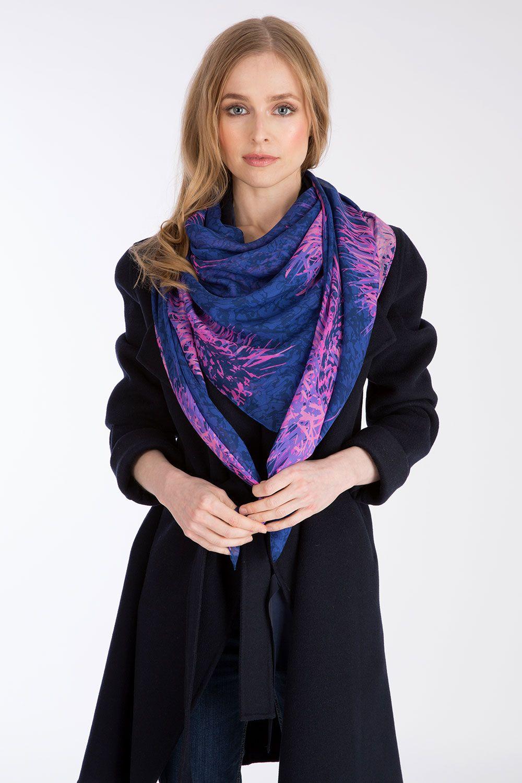 Cashmere Silk Scarf - Frida and friend scarf by VIDA VIDA HPhe3K1