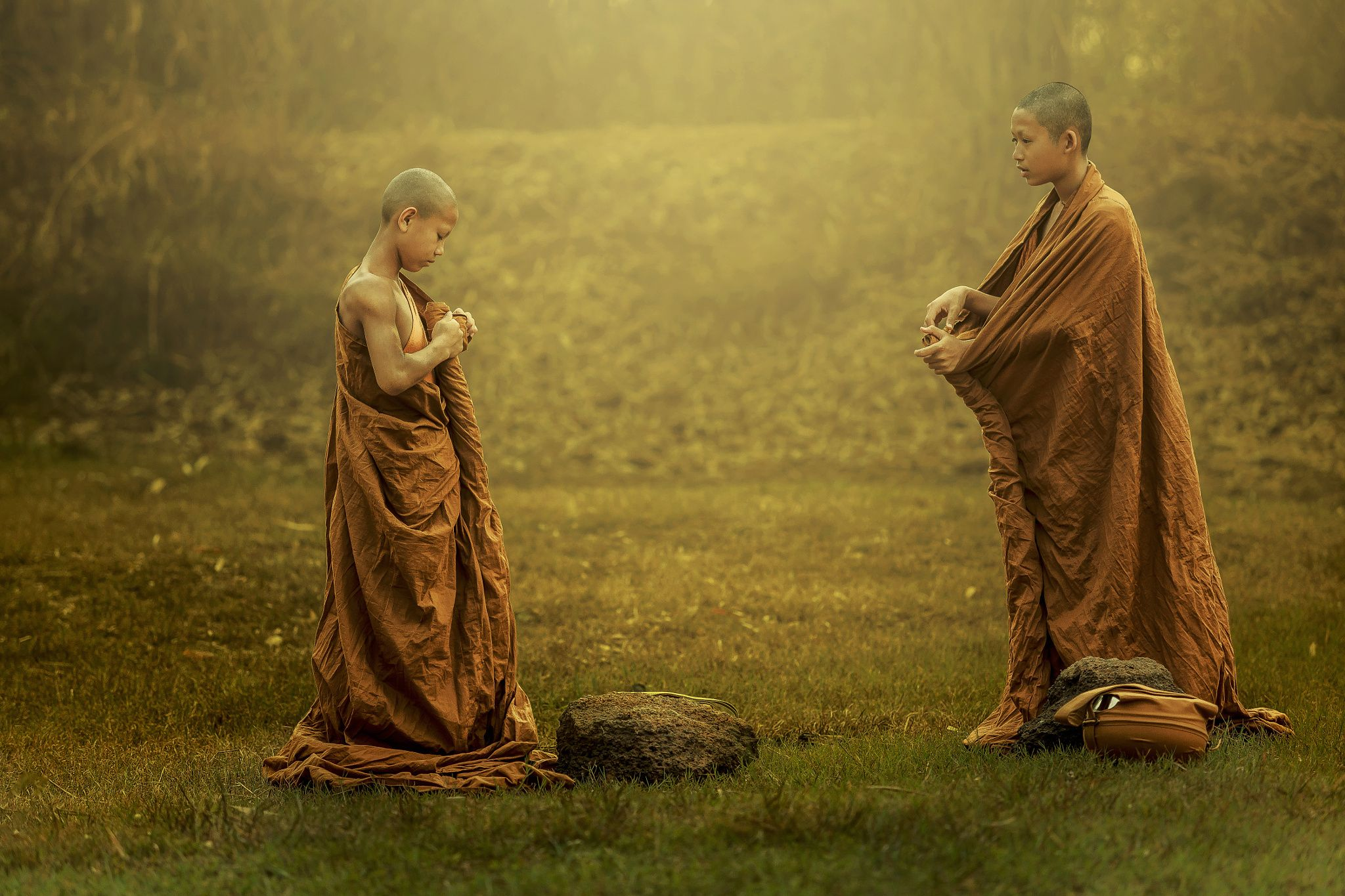 Burmese Buddhist Monk In Mandalay Editorial Image - Image