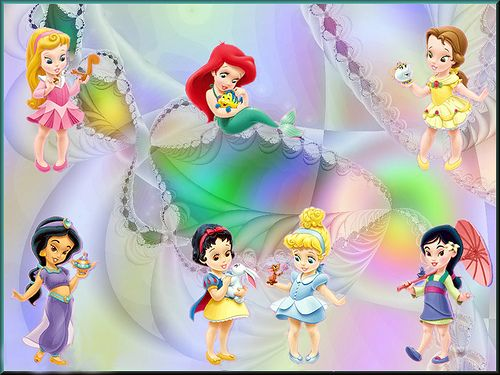 Dibujos Walt Disney Bebes: Imágenes: Baby Princesas