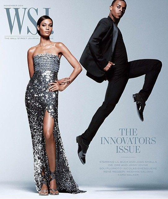 nice WSJ Magazine November 2014 | Joan Smalls & Lil Buck by Daniel Jackson  [Cover]