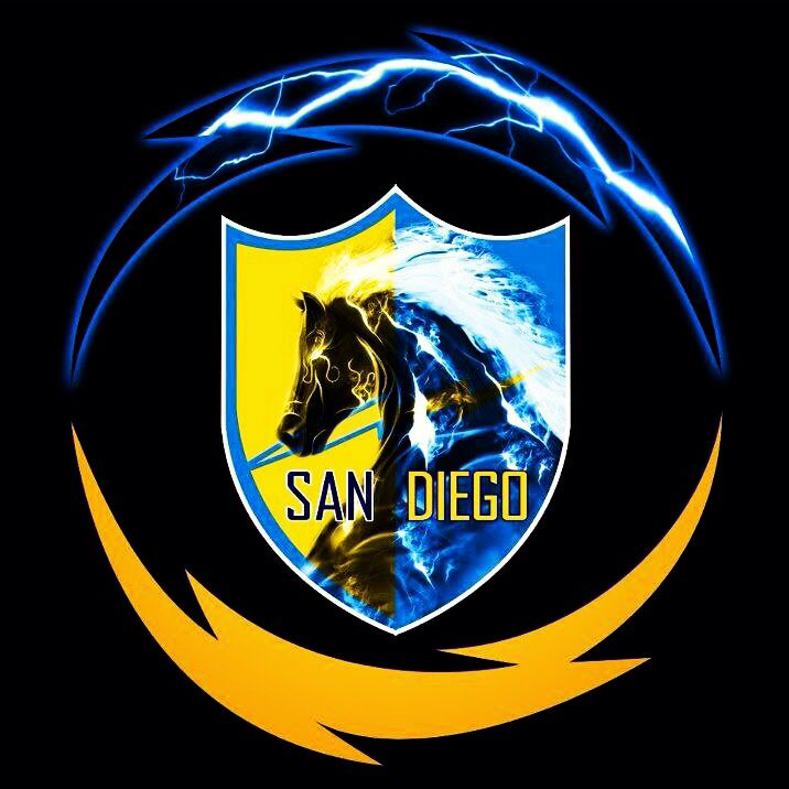 San Diego Chargers Colors: San Diego Chargers