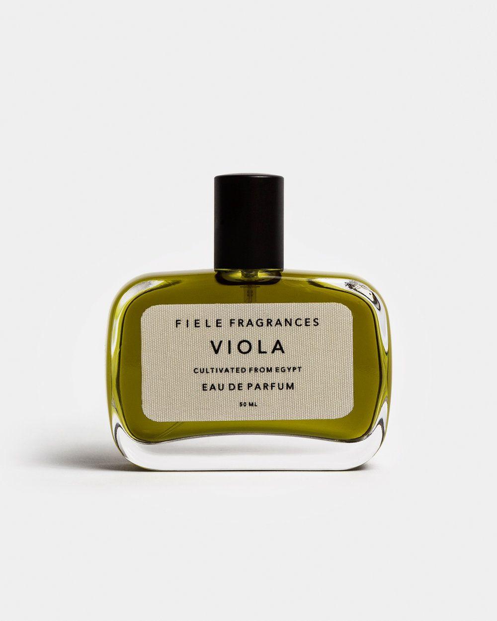 V I O L A eau de parfum   Flowering plants and Business cards