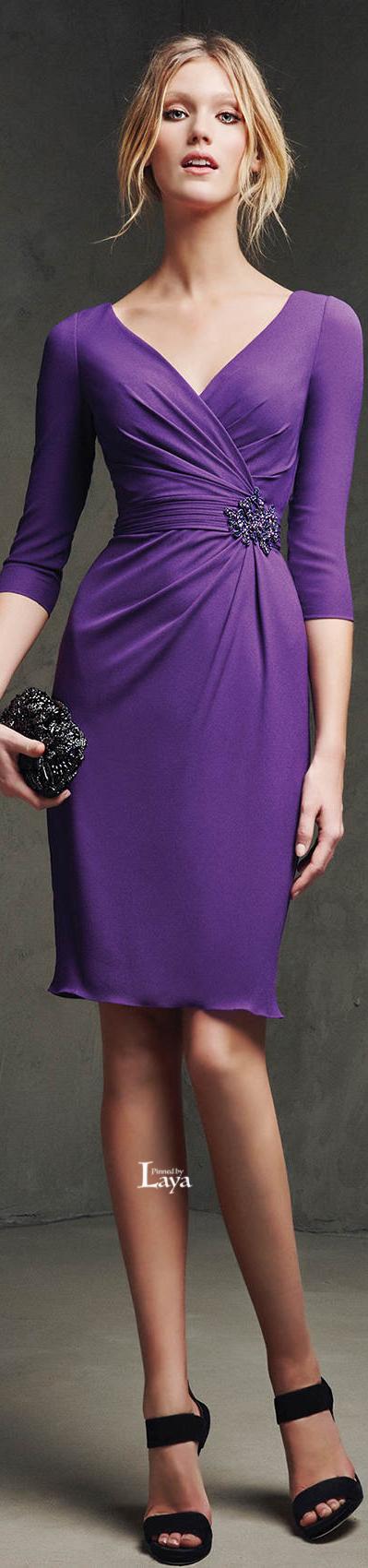 Pronovias 2016 Cocktail Dresses | modas | Pinterest | Negro ...