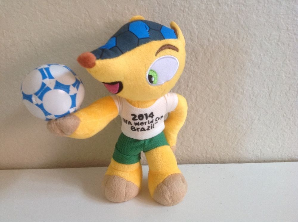 Mascot Plush Toy From 2014 Fifa World Cup Soccer Games In Brazil Ebay