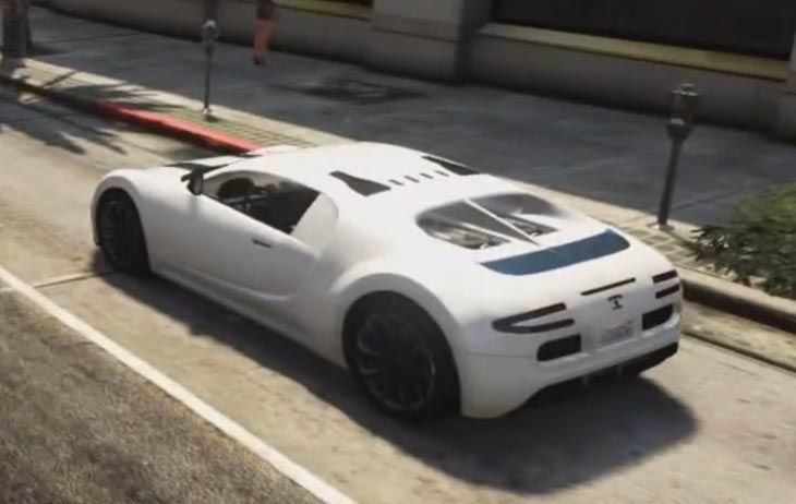 Take The Bugatti Veyron For A Spin In Gta V And A Number Of Other