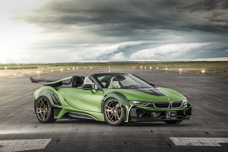 Eve Ryn Bmw I8 Roadster Army Edition Is A Serious Head Turner