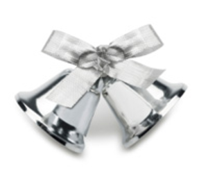 Silver Wedding Bells Free Images At Clker Com Vector Clip Art Online Royalty Free Public D Wedding Bells Clip Art Irish Wedding Traditions Irish Wedding