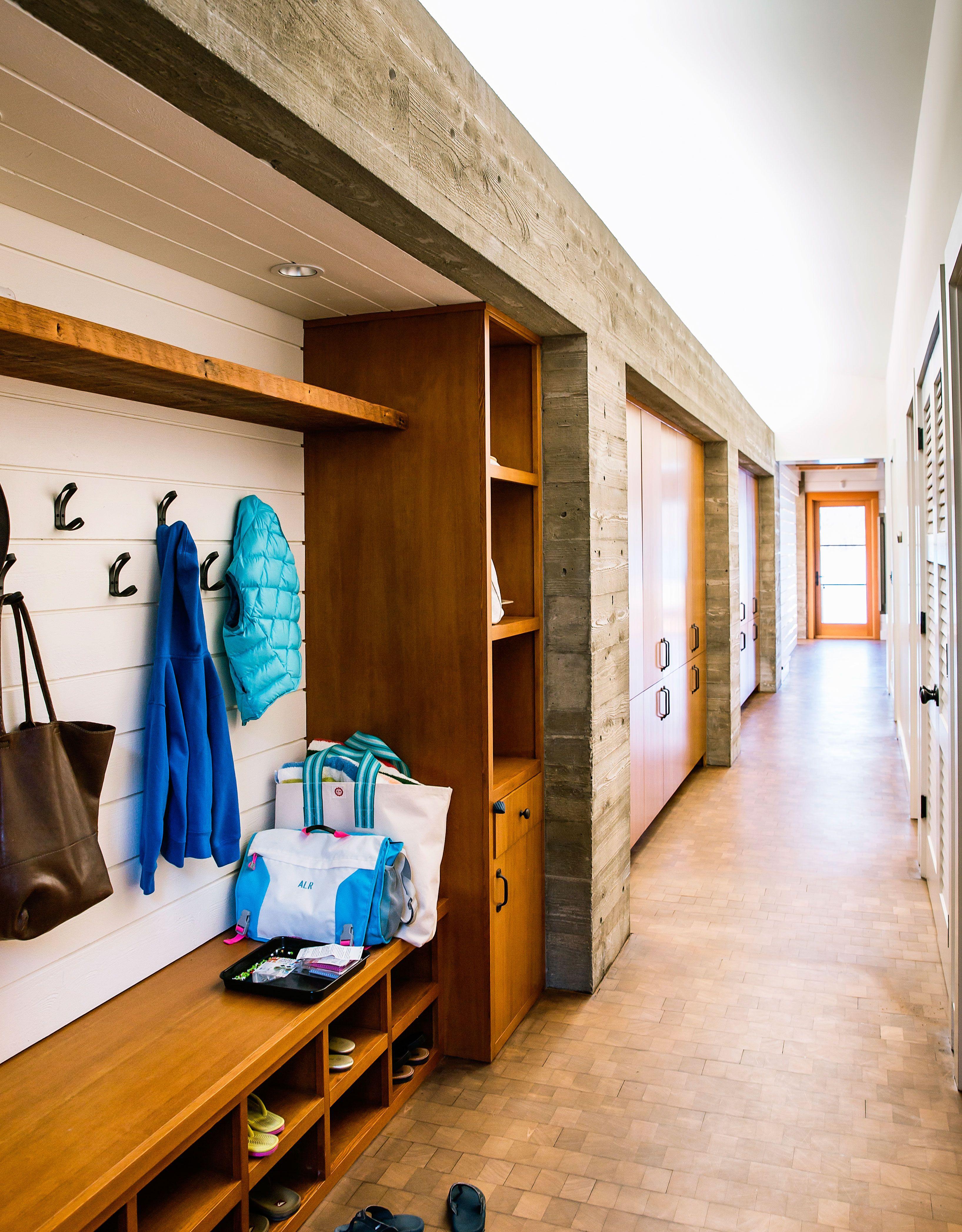 Modern hallway storage ideas  Hallway  eme entree  Pinterest  Architecture design and House