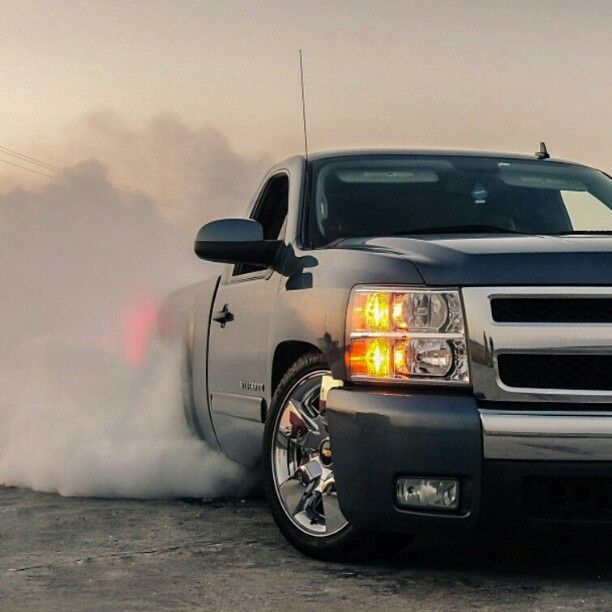 Burnouts Smoke M If You Got M With Images Lowered Trucks