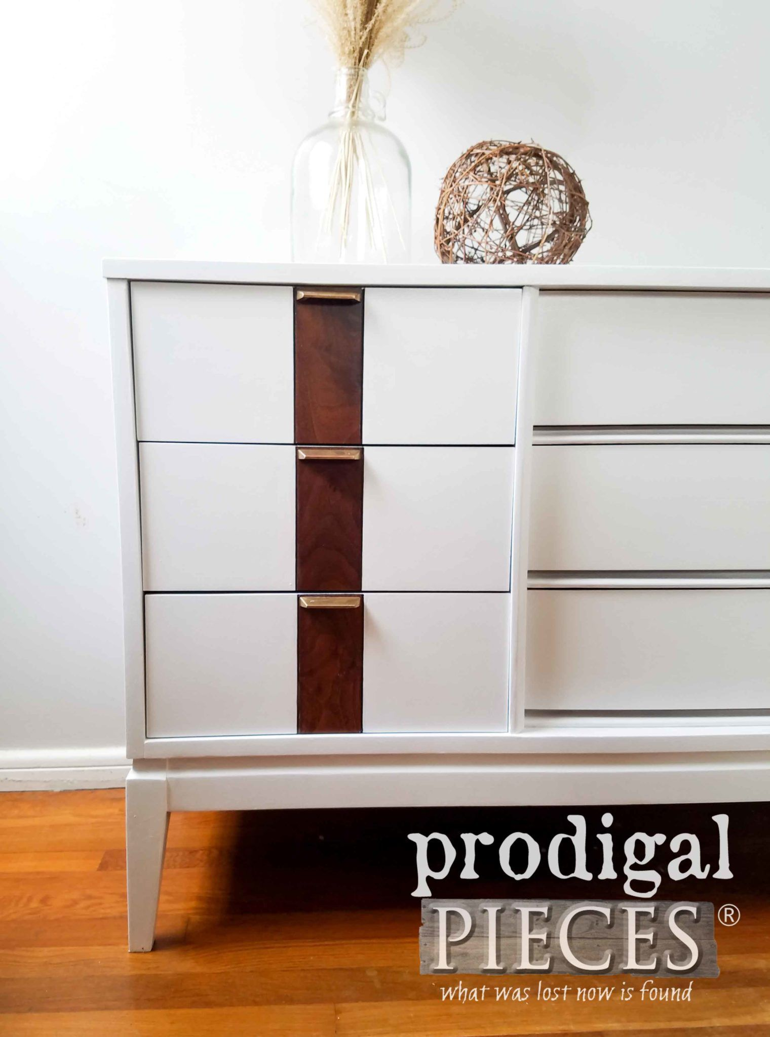 Photo of Updated Mid Century Modern Dresser – Prodigal Pieces