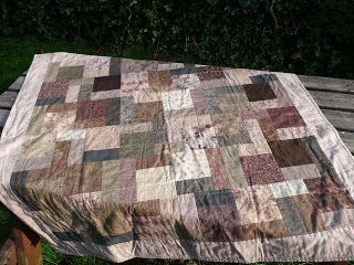 Creative Serendipity: Quilting... The reverse of my Japanese inspired quilt