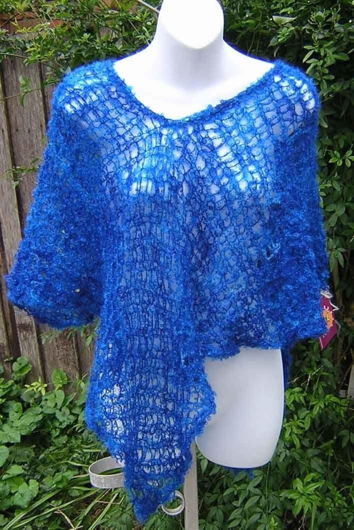 Free+Knitting+Pattern+-+Women's+Ponchos:+One+Hank+Poncho ...