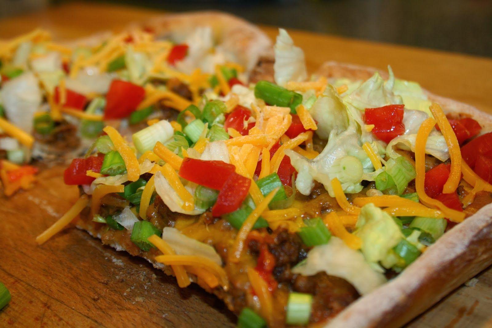 SourdoughNative: Taco Pizza Ole'