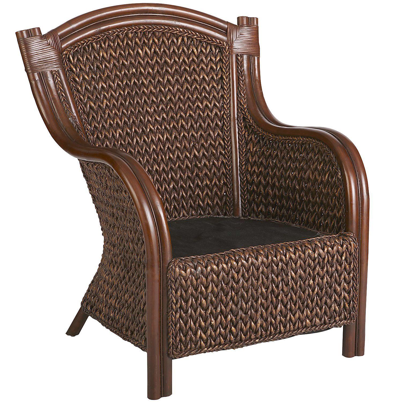King brown wicker armchair wicker armchair outdoor