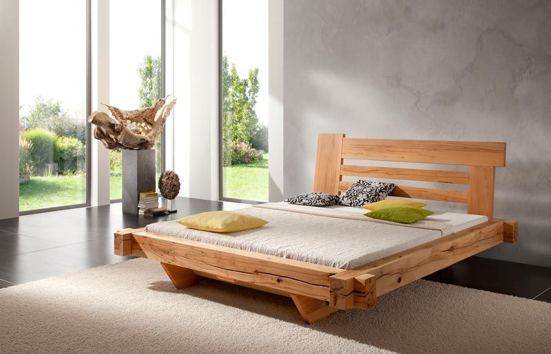holz bett design Google Search Wooden bed design, Bed
