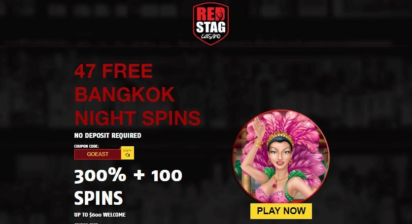 Red Stag casino new sign-up bonuses. Exclusive limited time Xmas sign-up offer