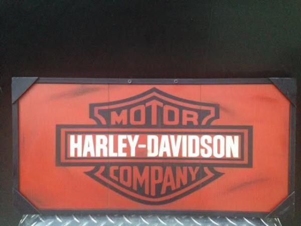 Harley Davidson Sign Man Cave Decor Harley Davidson Decor Bar Custom Harley Davidson Signs Decor