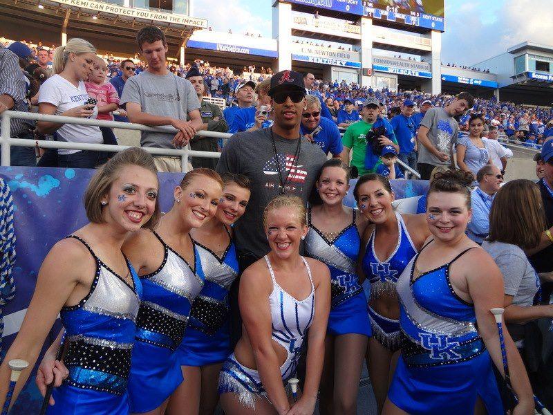 (2) University of Kentucky Sweetheart Majorettes