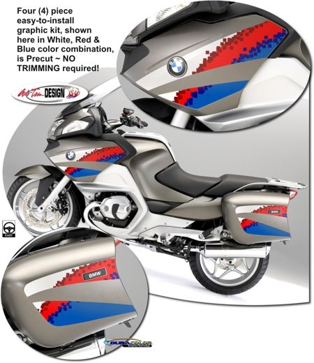 motorcycle specific graphic kits for bmw k 1200 s - k 1300 s from