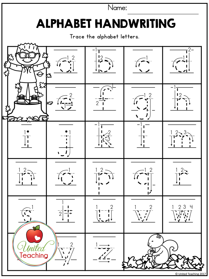 how to teach penmanship in kindergarten