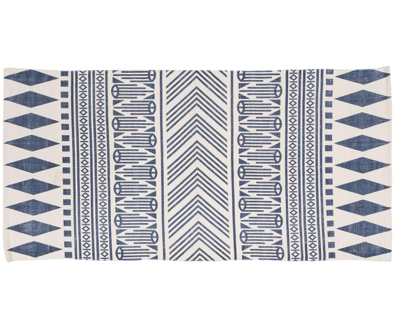 l ufer gehen sie mit handgewebter teppich aztec in beige blau wie auf wolken entdecken sie. Black Bedroom Furniture Sets. Home Design Ideas